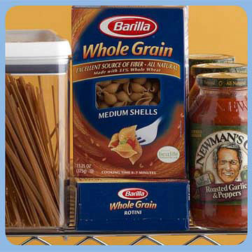 Whole Grain Pasta and Marinara Sauce