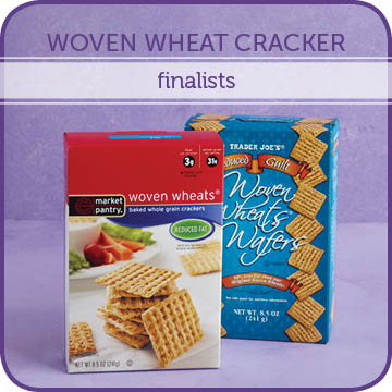 Woven Wheat Cracker Finalists