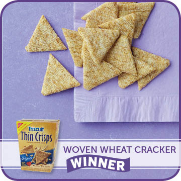 Woven Wheat Cracker Winner