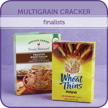 Multigrain Cracker Finalists