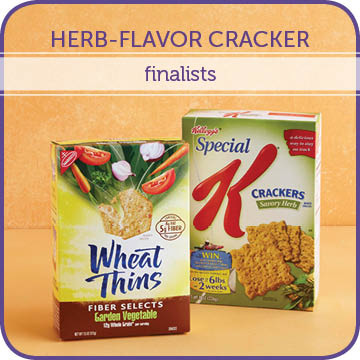 Herb-Flavor Cracker Finalists