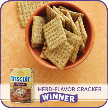 Herb-Flavor Cracker Winner