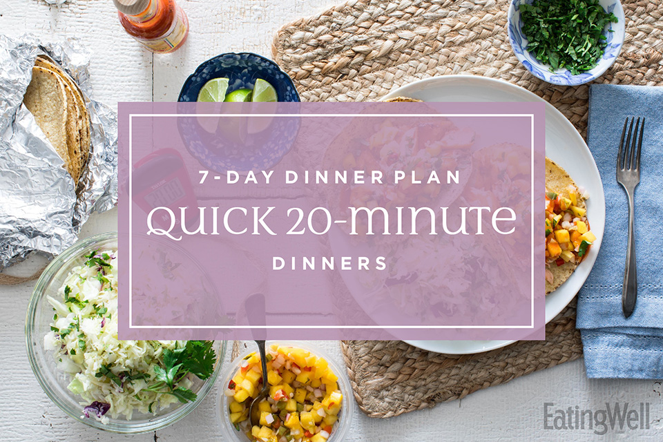 Quick 20-Minute Dinners