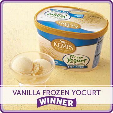 Vanilla Frozen Yogurt Winner