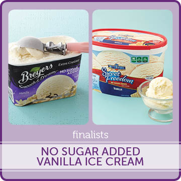 No Sugar Added Vanilla Ice Cream Finalists