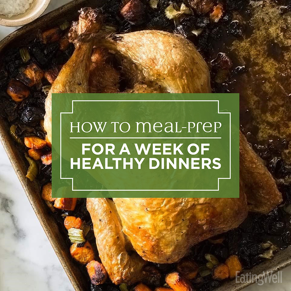 How to Meal Prep for a Week of Healthy Dinners