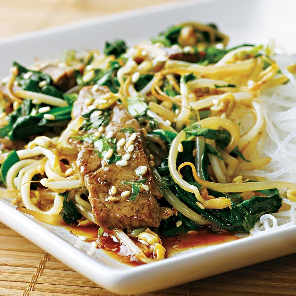 Korean Beef Stir-Fry