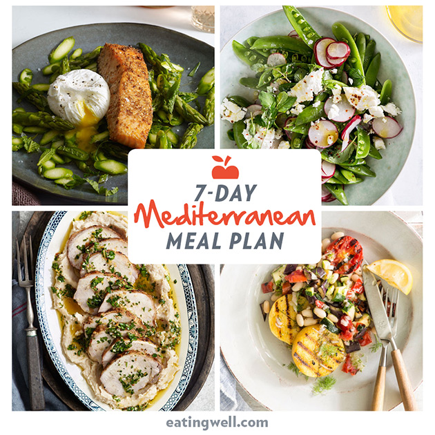 How to Meal-Prep 5 Mediterranean Lunches for the Week in