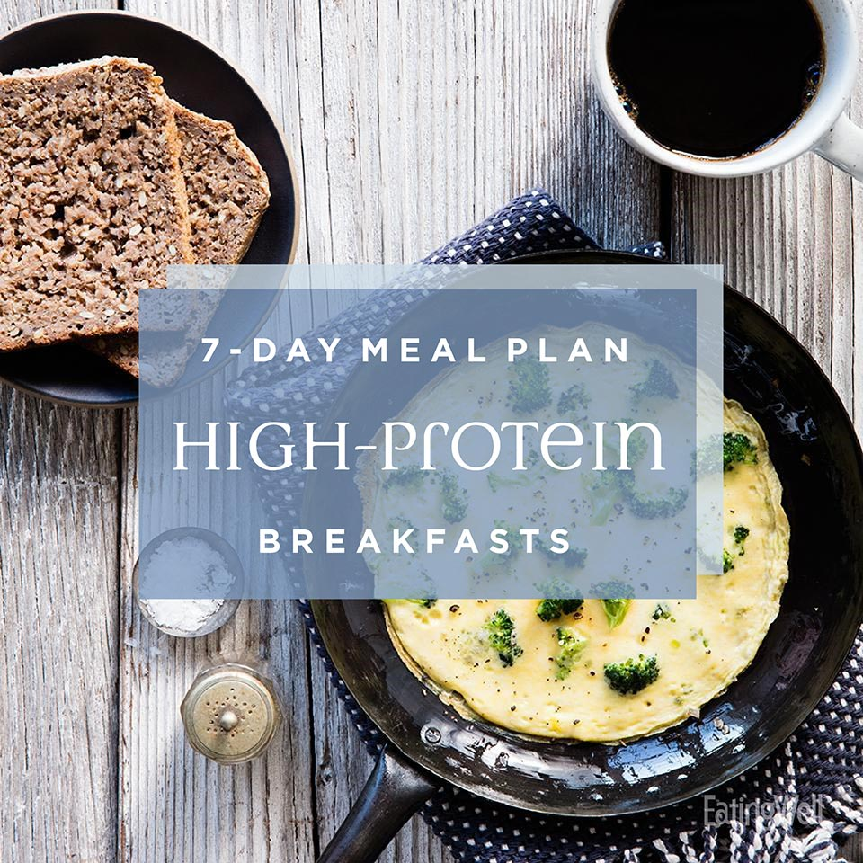 7-Day Meal Plan: Satisfying High-Protein Breakfasts