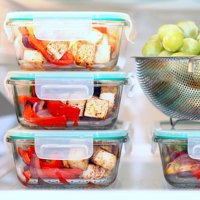 How to Meal Prep a Week of High-Protein Lunches in 30 Minutes