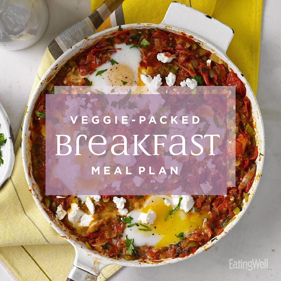Veggie-Packed Breakfast Meal Plan