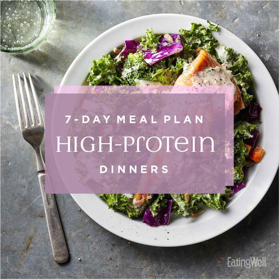 7-Day Meal Plan: High-Protein Dinners