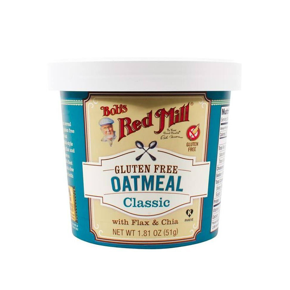 bobs red mill gluten free oatmeal