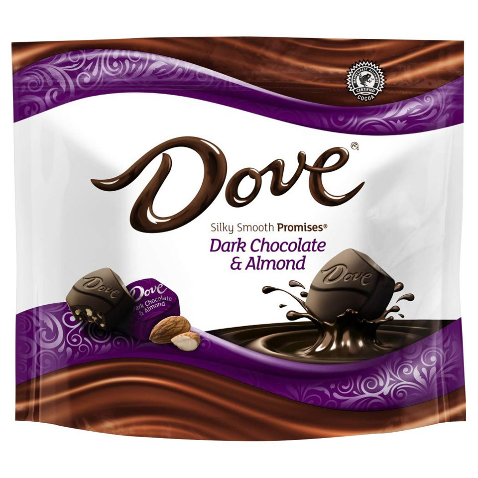 dove silky smooth chocolates
