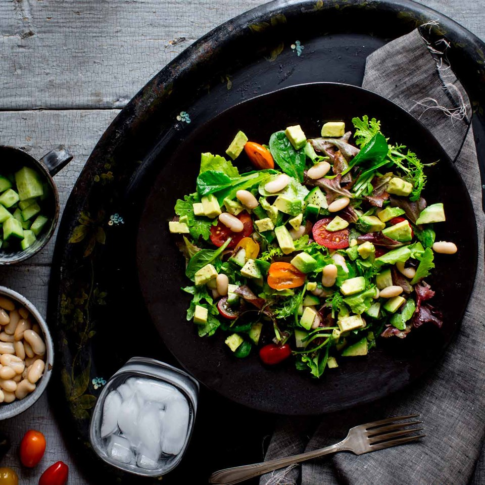White Bean & Veggie Salad