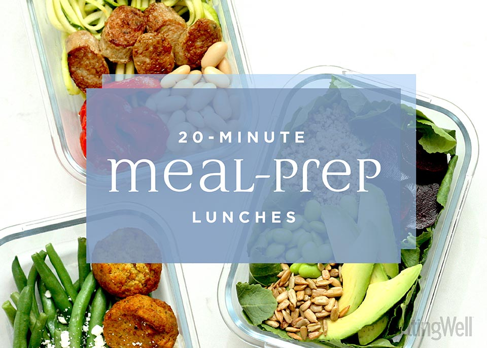 20-Minute Meal Prep Lunches
