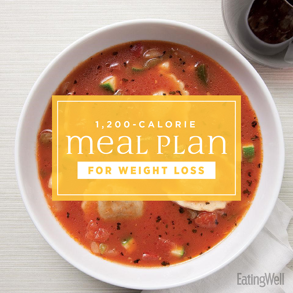 7-Day Mediterranean Meal Plan: 1,200 Calories | EatingWell