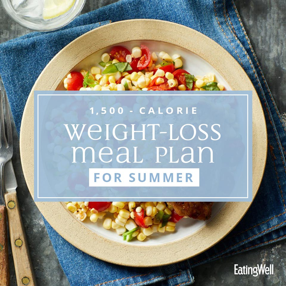 Weight-Loss Meal Plan for Summer: 1,500 Calories