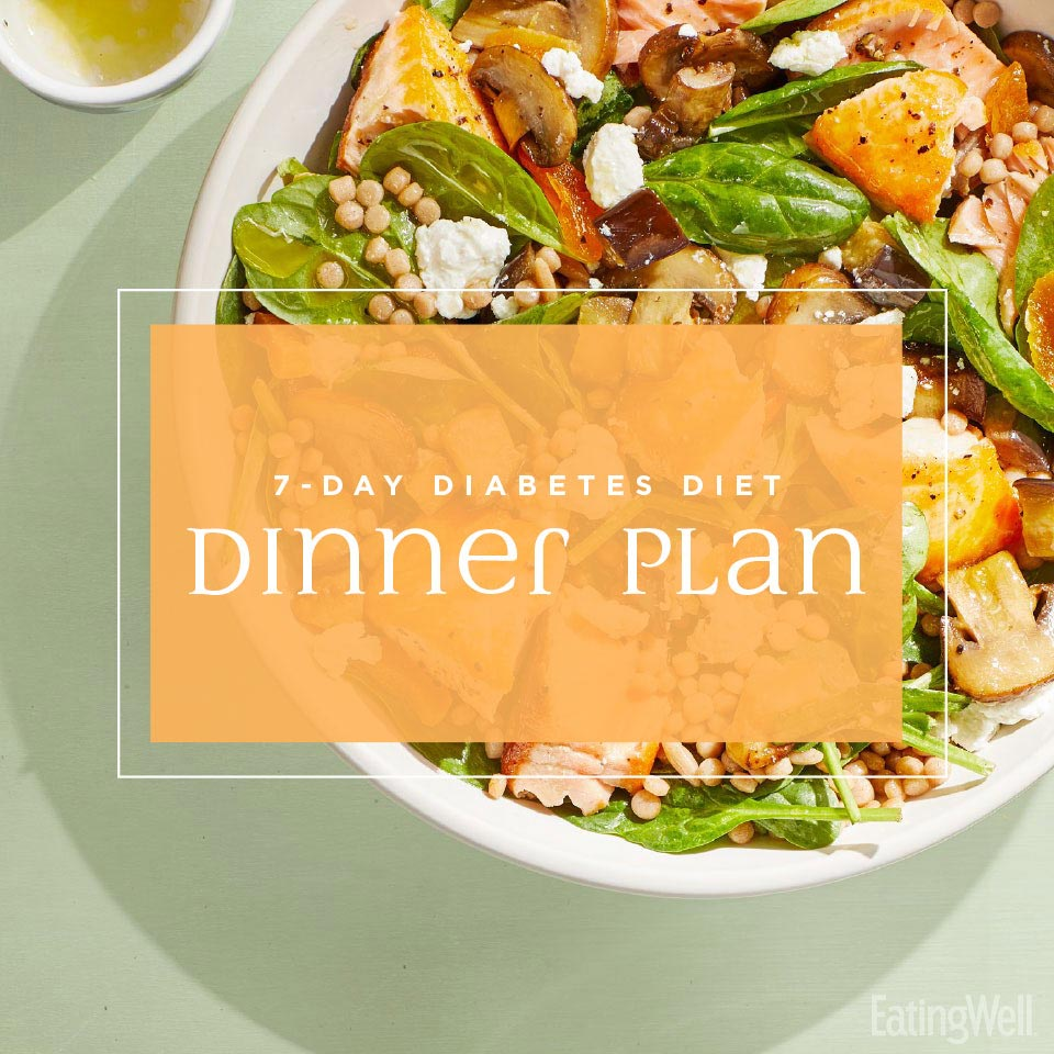 7-Day Diabetes Diet Dinner Plan