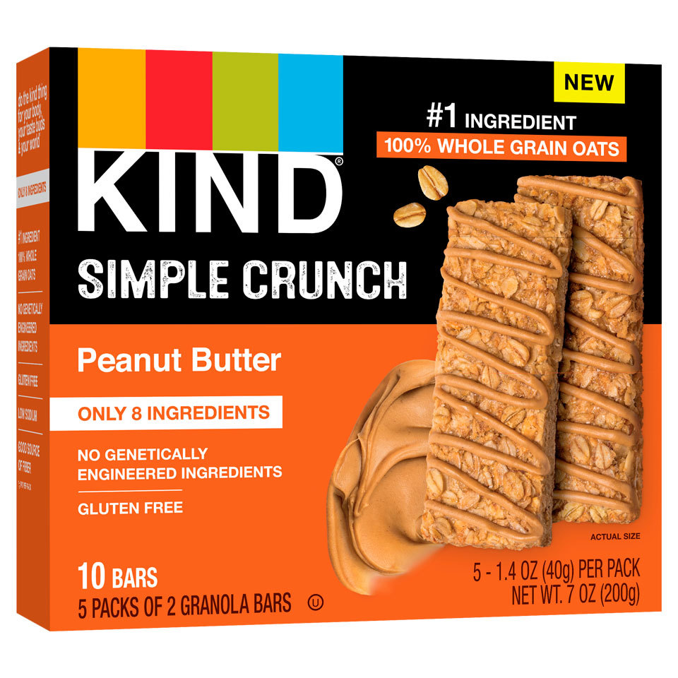 Kind Simple Crunch Peanut Butter Bars