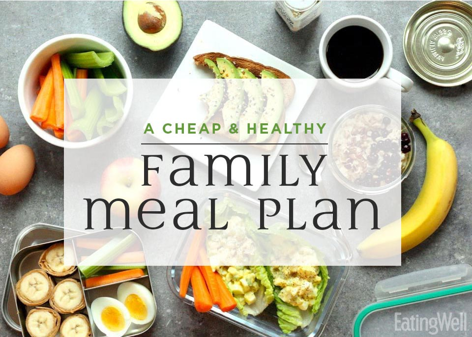 A Cheap, Healthy Meal Plan to Feed My Family for $100 for the Week
