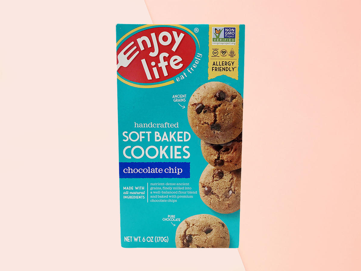 enjoy life soft-baked chocolate chip cookies