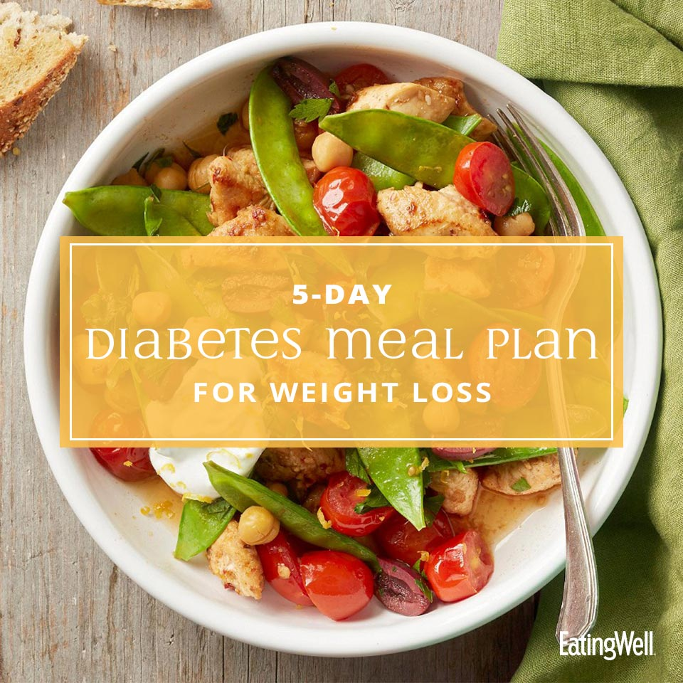 5-Day Diabetes Meal Plan for Weight Loss