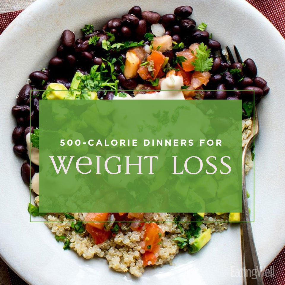 500 calorie weight loss dinners