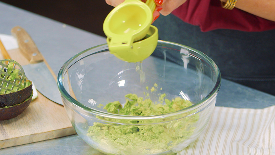 Add a Creamy Topping and Great Garnishes