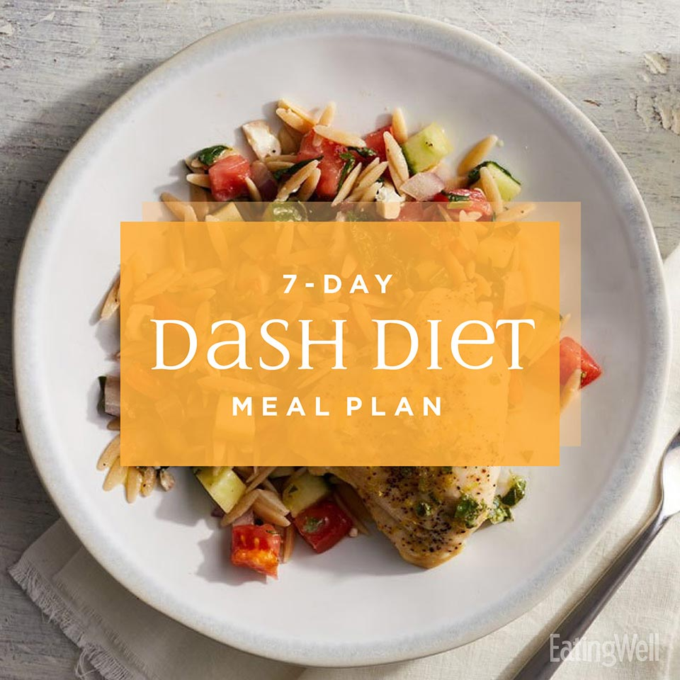 7-Day DASH Diet Menu