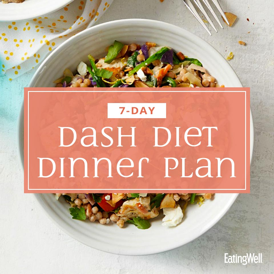 10-Day DASH Diet Dinner Meal Plan  EatingWell