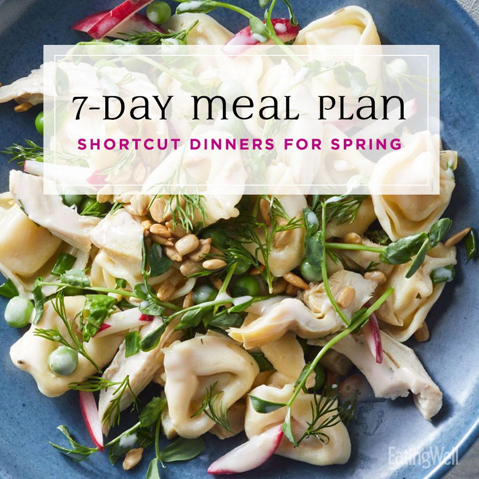 7-Day Dinner Plan: Shortcut Dinners for Spring