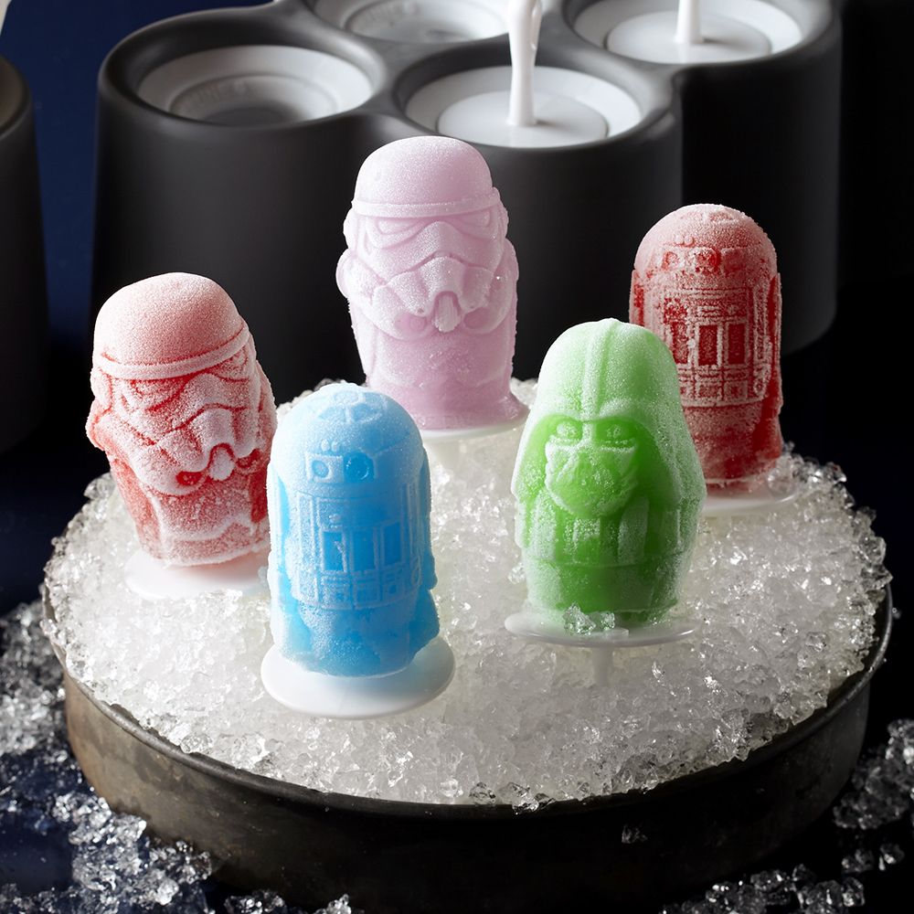 Star Wars popsicle molds