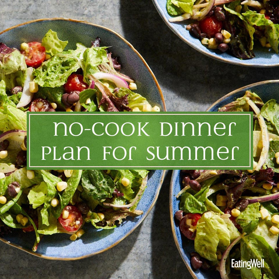 7-Day No-Cook Meal Plan