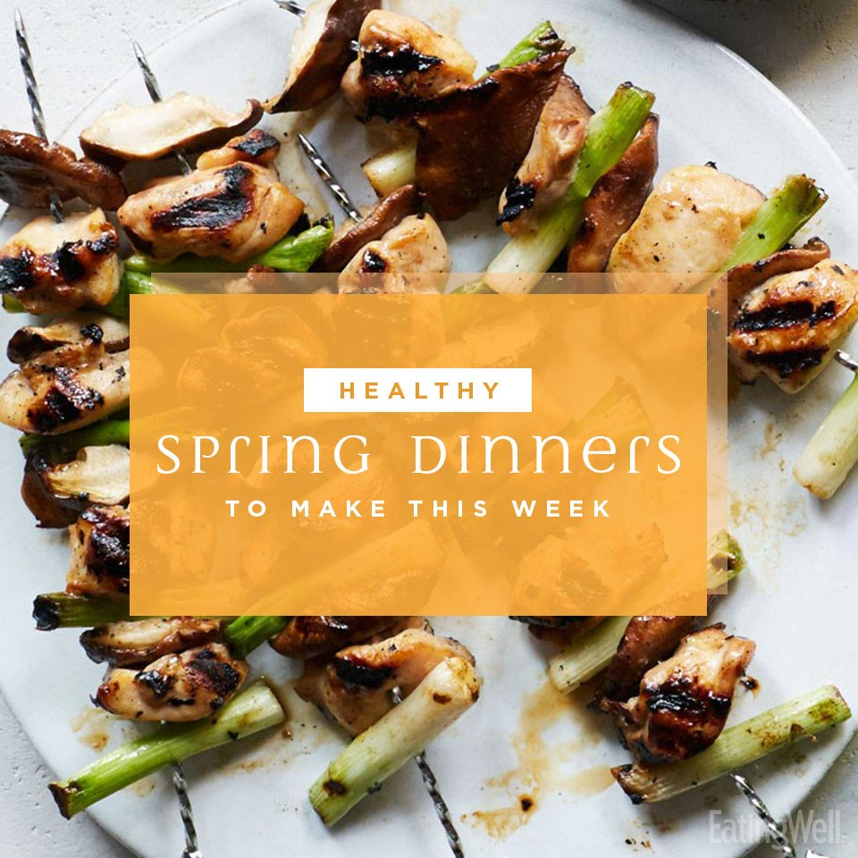7 Healthy Spring Dinners to Make This Week