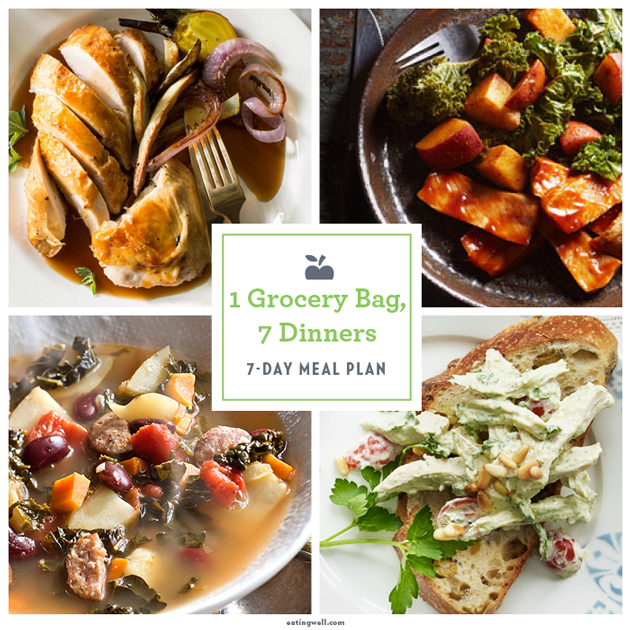 7-Day Meal Plan: 1 Bag, 7 Dinners