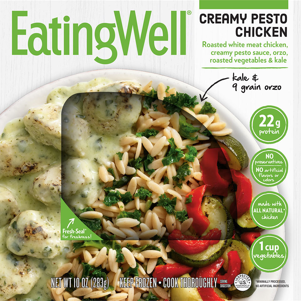 EatingWell Creamy Pesto Chicken box