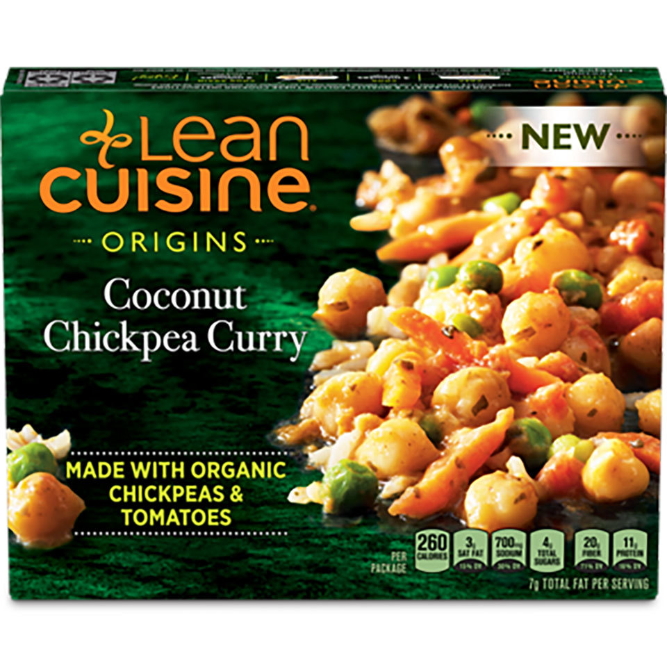 Lean Cuisine Origins Coconut Chickpea Curry box