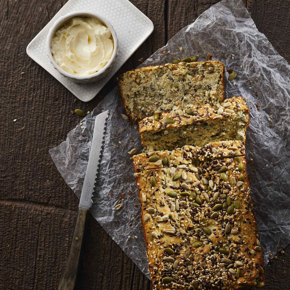Low-Carb Seeded Quick Bread Recipe