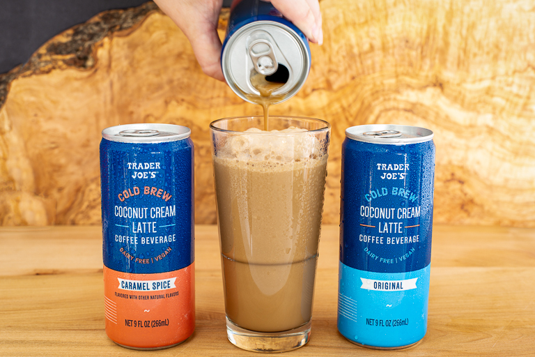 Trader Joe's New Coconut Cold Brew Lattes Are Here to Save You Money and Sugar