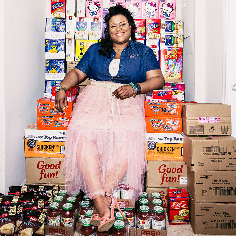 How A Single Mom Used Coupons to Feed the Hungry More Than 100,000 Meals