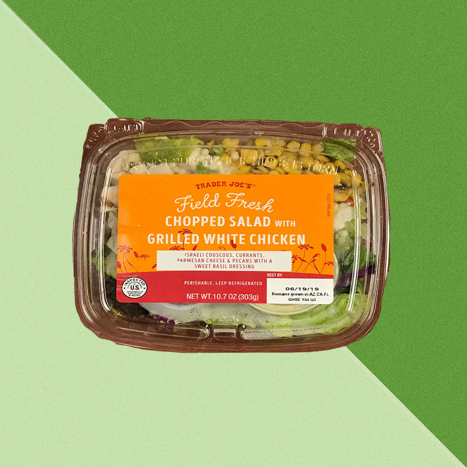 Field Fresh Chopped Salad With Grilled White Chicken