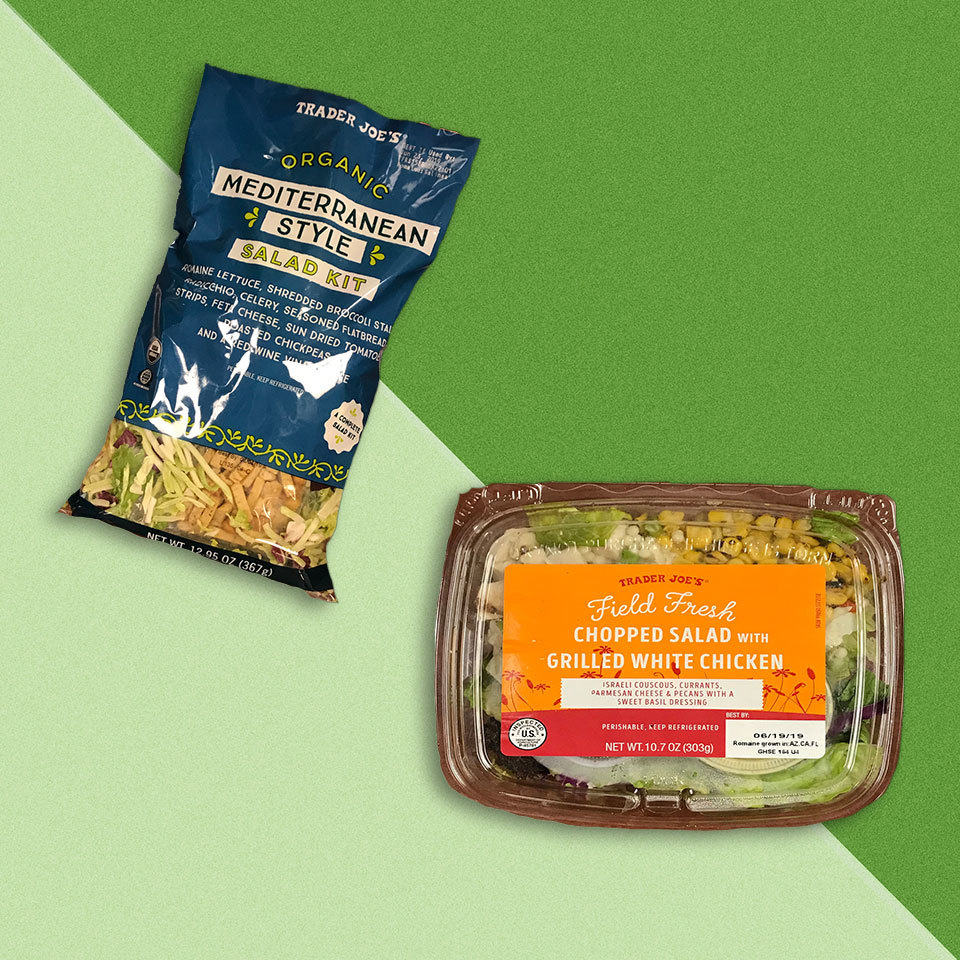 The 10 Healthiest Trader Joe's Salads, According to a Dietitian