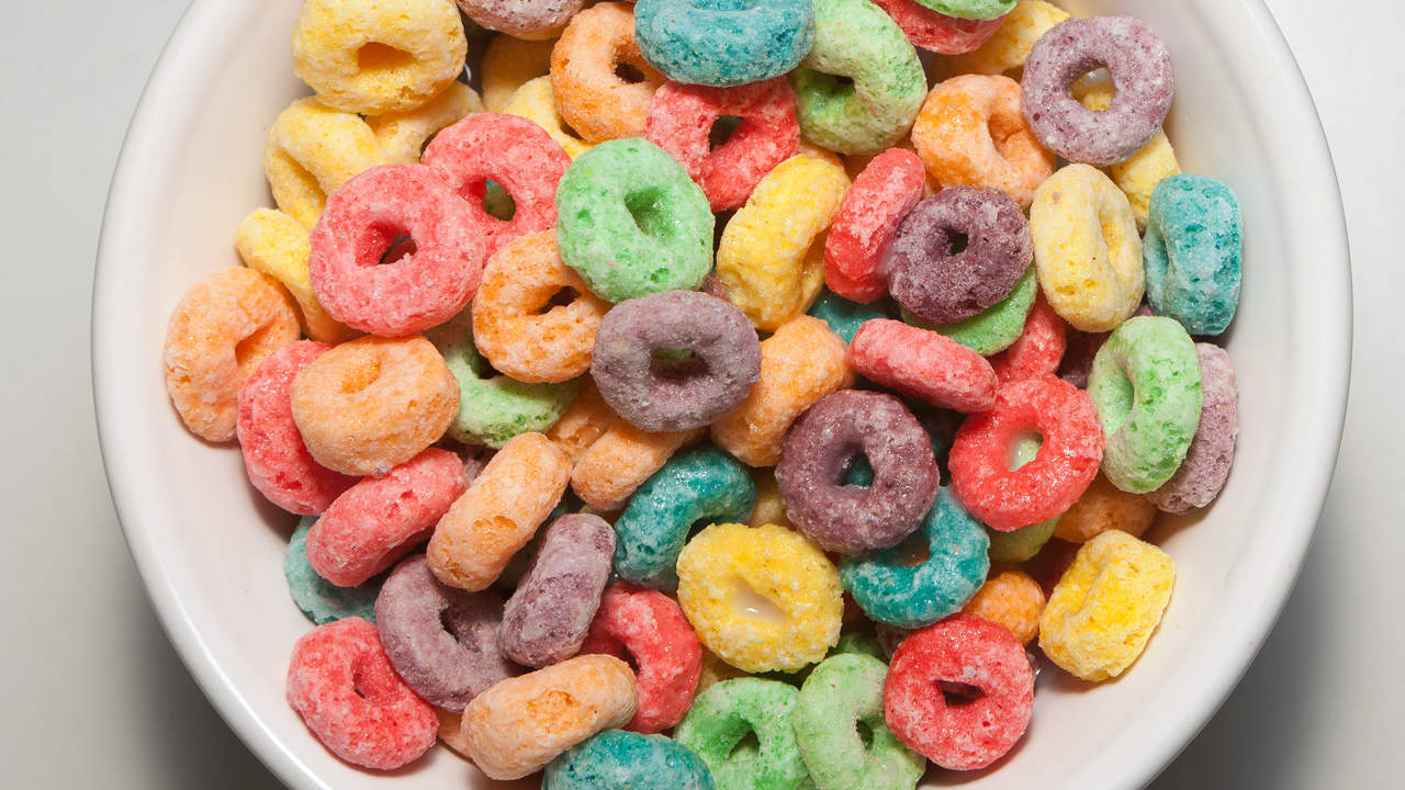 Worst grain: Sugary cereals