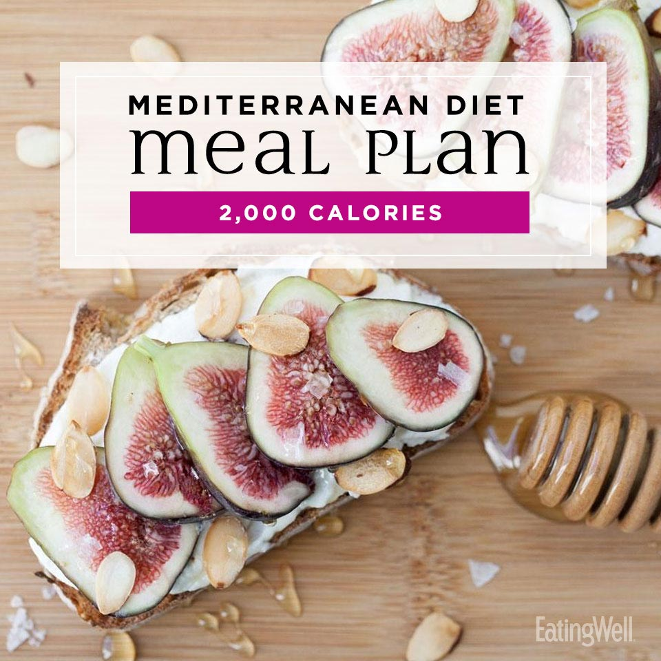 7-Day Mediterranean Meal Plan: 2,000 Calories