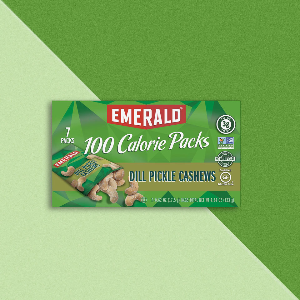 emerald dill pickle cashews