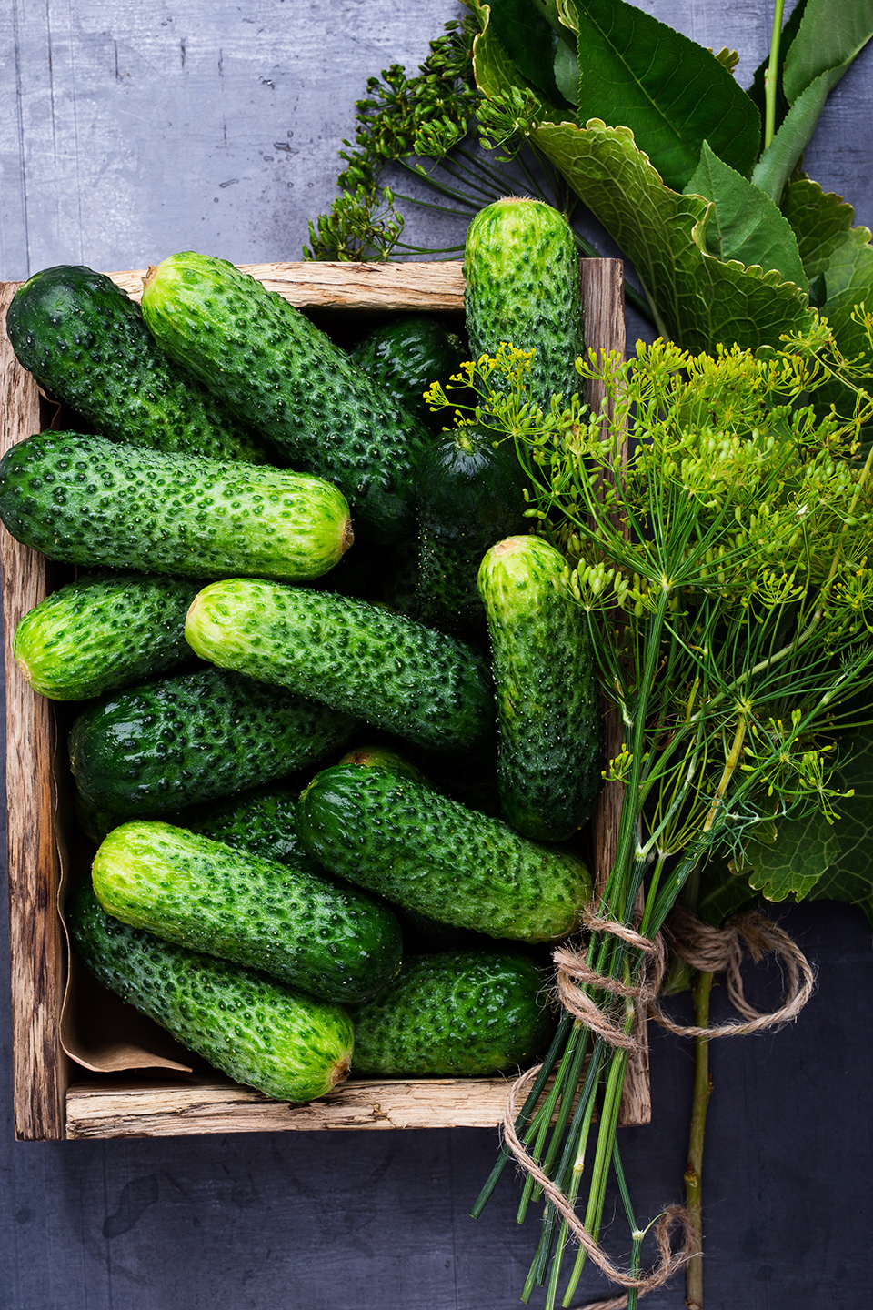 cucumbers basket pickles