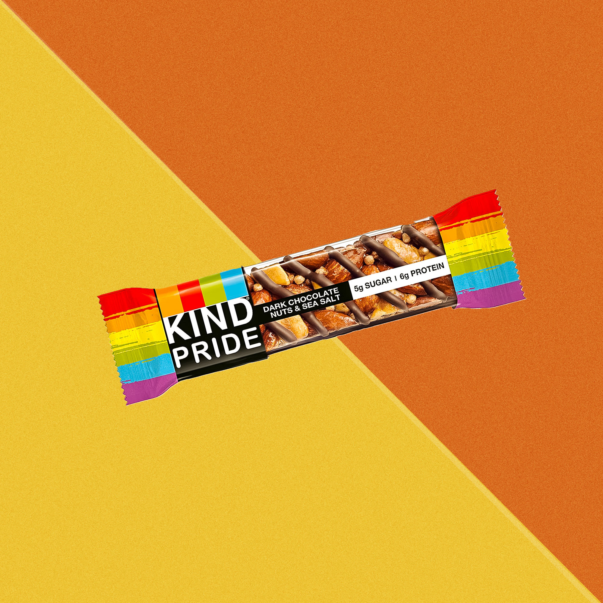 KIND Bar Supports Pride Month With New Rainbow-Themed Packaging
