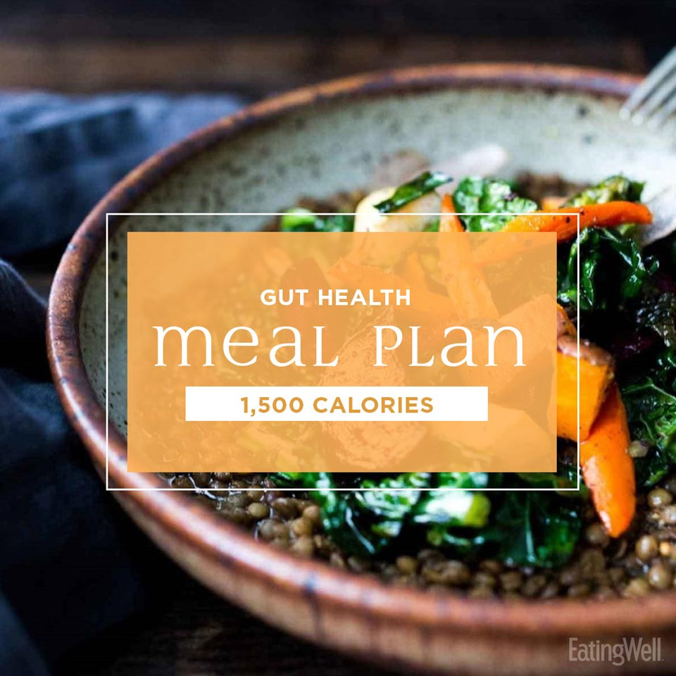 Healthy Gut Diet Plan: 1,500 Calories