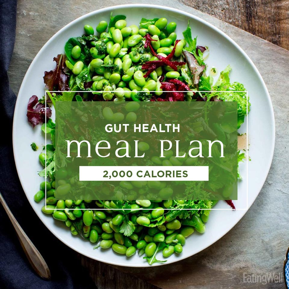 2,000-Calorie Meal Plan for a Healthy Gut